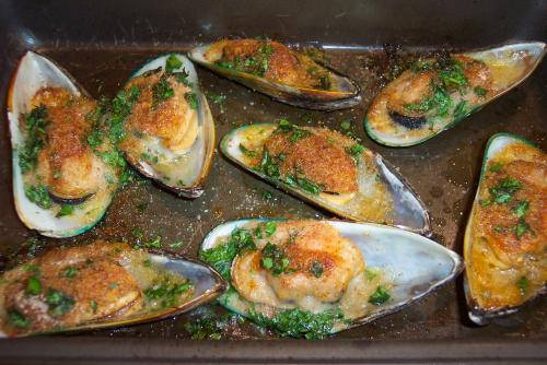 Semplicemente cozze gratinate il mare in tavola am forums - Il mare in tavola ...
