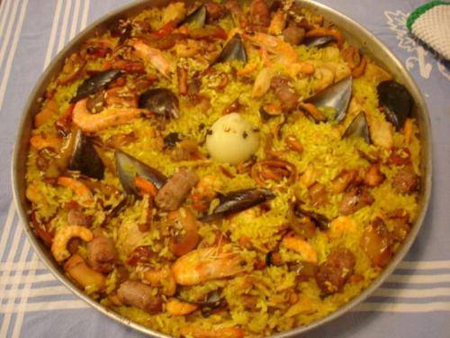 Paella Di Carne E Pesce Il Forno Gibon Cook Giocose Bonta
